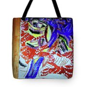Hearts Drum 4 Tote Bag