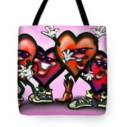 Hearts Gang Tote Bag