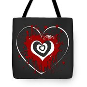 Hearts Graphic 1 Tote Bag
