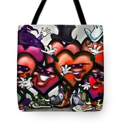 Hearts Party Tote Bag