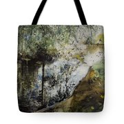Heat And Shade Tote Bag
