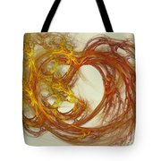 Heat Of The Heart Tote Bag