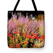 Heather And Sedum Tote Bag