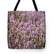 Heather Background Tote Bag