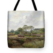 Heather Landscape Tote Bag