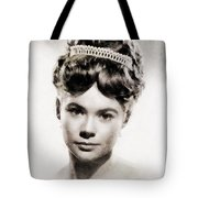 Heather Sears, Vintage Actress Tote Bag