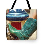 Heather's Boot Tote Bag