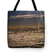 Heaven Above The Clouds Tote Bag