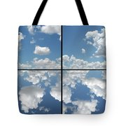 Heaven Tote Bag by James W Johnson