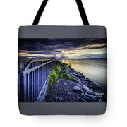 Heaven Let Your Light Shine Down Tote Bag