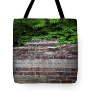 Heaven Under Our Feet Wall Tote Bag