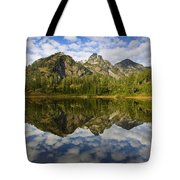 Heaven Unfolded Tote Bag by Mike  Dawson