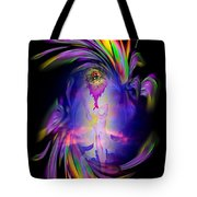 Heavenly Apparition Tote Bag