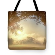 Heavenly Arch Sunrise Tote Bag