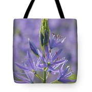 Heavenly Blue Camassia Tote Bag