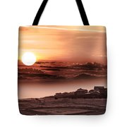 Heavenly City In The Sky Tote Bag