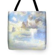 Heavenly Clouded Beautiful Sky Tote Bag