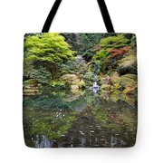 Heavenly Falls And The Swirly Lower Pond Tote Bag