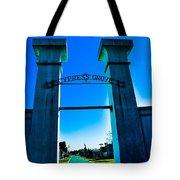 Heavenly Gates Tote Bag
