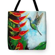 Heavenly Heliconia Tote Bag