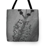 Heavenly Hibiscus Bw 13 Tote Bag