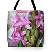 Heavenly Hyacinths Tote Bag