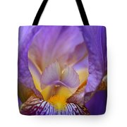 Heavenly Iris Tote Bag