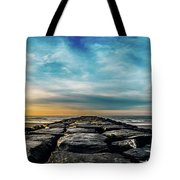 Heavenly Jetty Tote Bag