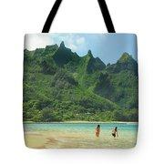 Heavenly Kauai Lagoon Tote Bag