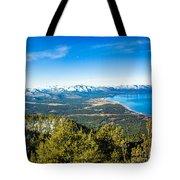 Heavenly South Lake Tahoe View 1 - Left Panel Tote Bag