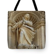 Heavenly Statue Tote Bag