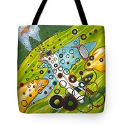 Heavenly Swing Tote Bag