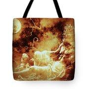 Heavenly Throne Tote Bag