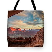 Heavenly View Tote Bag