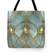Heavenly Wings Of Gold Tote Bag