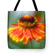 Heavenly Zinnia Tote Bag