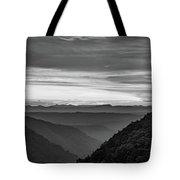 Heaven's Gate - West Virginia Bw Tote Bag