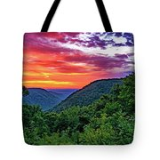 Heaven's Gate - West Virginia - Paint Tote Bag