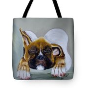 Heavens Little Angel Two Tote Bag by Debra Campbell