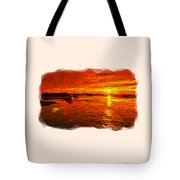 Heavens Of Fire 2 Tote Bag