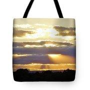 Heaven's Rays Tote Bag