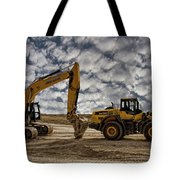 Heavy Duty Earth Movers Tote Bag