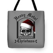 Heavy Metal Christmas Tote Bag