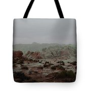 Heavy Rain In Valley Of Fire Tote Bag