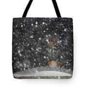 Heavy Snow Tote Bag