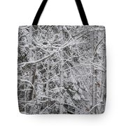 Heavy Snow Tote Bag