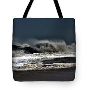 Stormy Surf Tote Bag