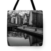 Rochdale Canal, Yorkshire, England Tote Bag