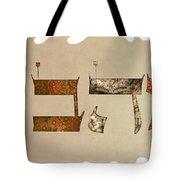 Hebrew Calligraphy-ahava Tote Bag