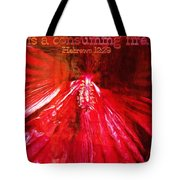 Hebrews 12 29 Tote Bag
